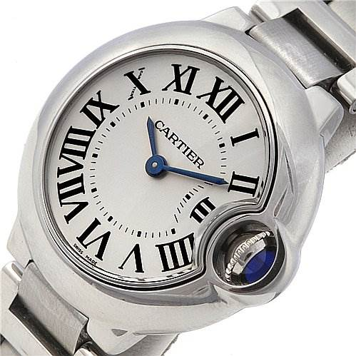 2287 Cartier Ballon Bleu Ladies Watch W69010z4 SwissWatchExpo