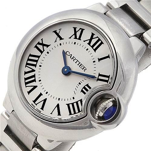 2287 Cartier Ballon Bleu Ladies Watch W69010z4 SwissWatchExpo