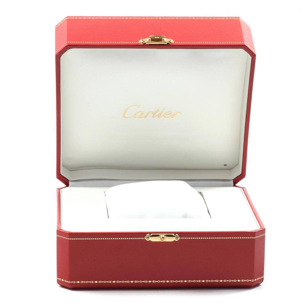 Cartier Ballon Bleu 33 Midsize Diamond Steel Ladies Watch W4BB0009 SwissWatchExpo