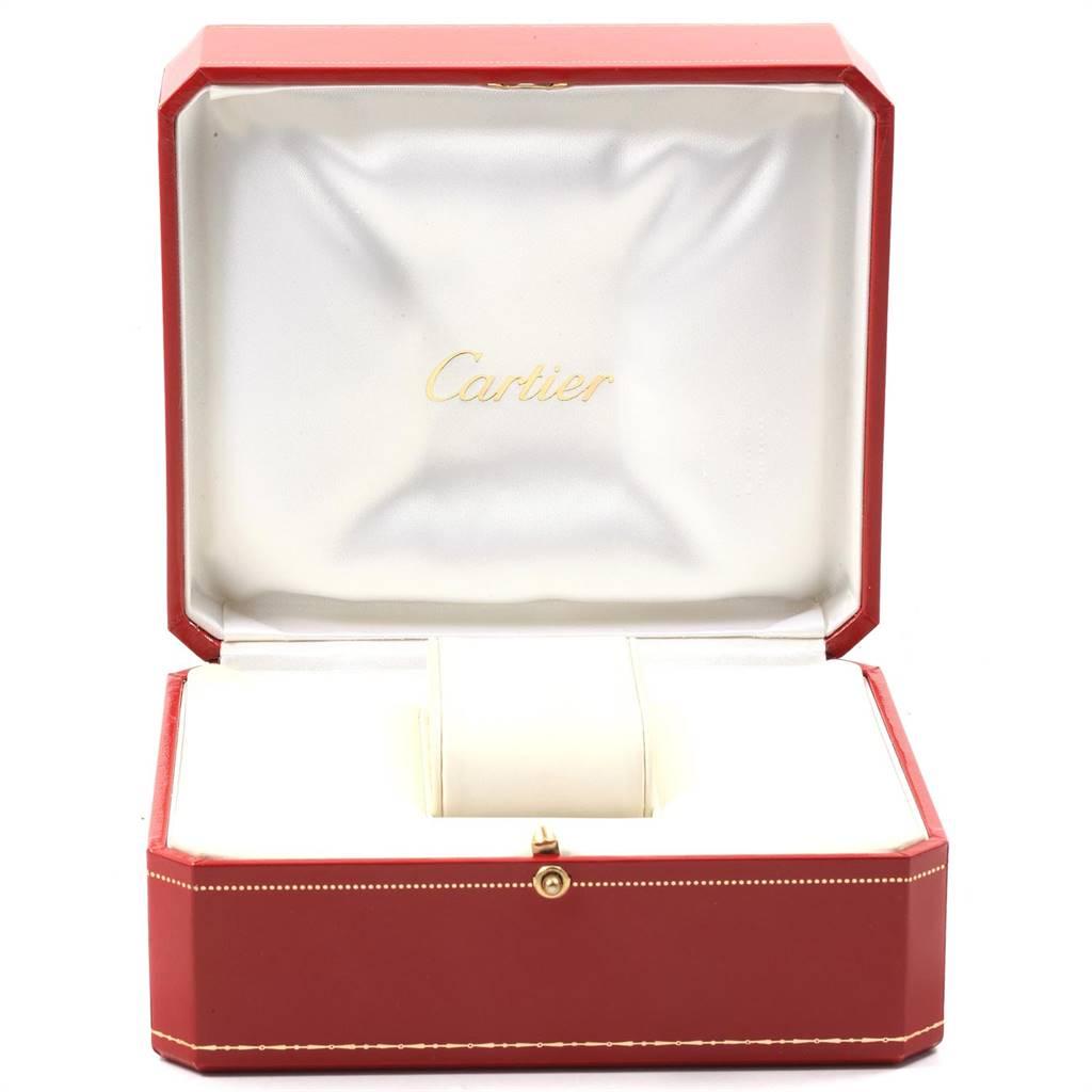 Cartier Ballon Bleu Steel Yellow Gold Small Ladies Watch W69007Z3 SwissWatchExpo