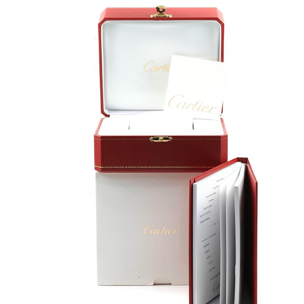 20967 Cartier Ballon Bleu Steel Automatic Womens Watch W6920071 Box Papers SwissWatchExpo