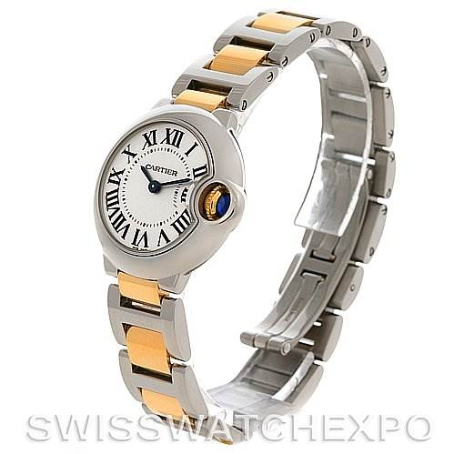 2746 Cartier Ballon Blue Steel & Gold Watch W69007z3  SwissWatchExpo