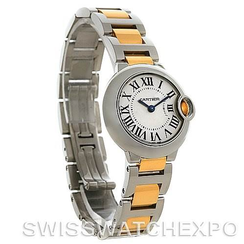 2786 Cartier Ballon Blue Steel and Gold Watch W69007Z3  SwissWatchExpo