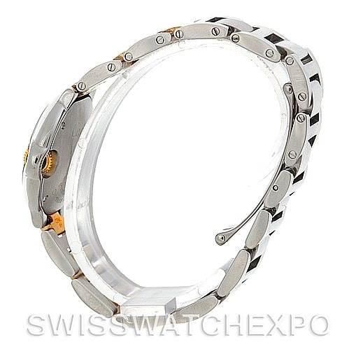 5414 Cartier Ballon Blue Steel and 18K Yellow Gold W69007Z3 Ladies Watch SwissWatchExpo