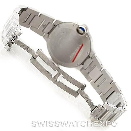 8017 Cartier Ballon Bleu Automatic Ladies Watch W6920071 Unworn SwissWatchExpo