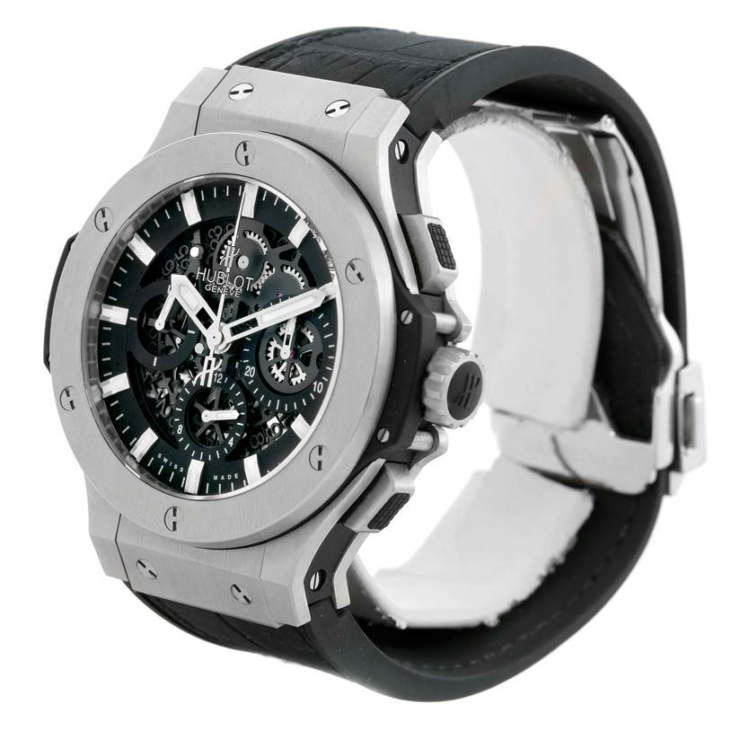 9947P Hublot Big Bang Aero Bang Skeleton Dial Watch 311.SX.1170.RX Unworn SwissWatchExpo