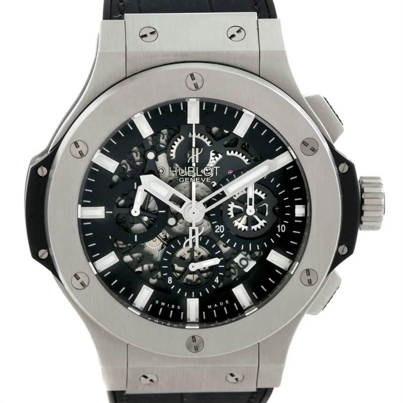 Photo of Hublot Big Bang Aero Bang Skeleton Dial Watch 311.SX.1170.RX Unworn