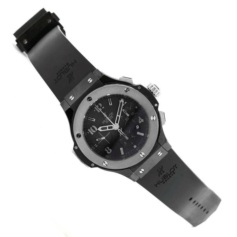Hublot Big Bang Ice Bang Black Ceramic Mens Watch 301.CT.130.RX SwissWatchExpo