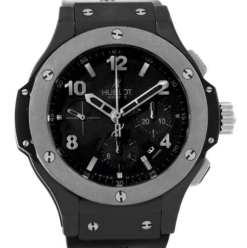 Photo of Hublot Big Bang Ice Bang Black Ceramic Mens Watch 301.CT.130.RX