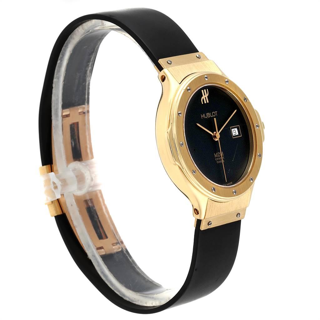 8802X Hublot MDM Geneve Classic 18K Yellow Gold Ladies Watch 140.10.3 SwissWatchExpo