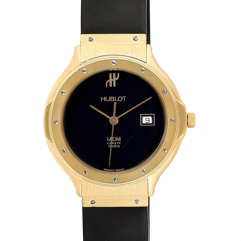 Photo of Hublot MDM Geneve Classic 18K Yellow Gold Ladies Watch 140.10.3