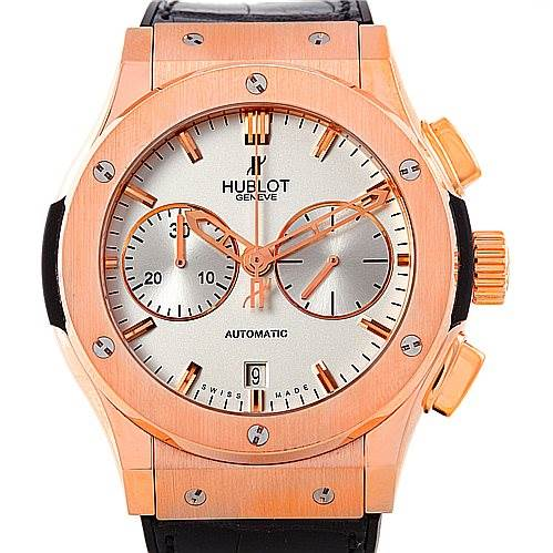Hublot Classic Fusion Chronograph 18K Rose Gold Watch 521.OX.2610.LR SwissWatchExpo