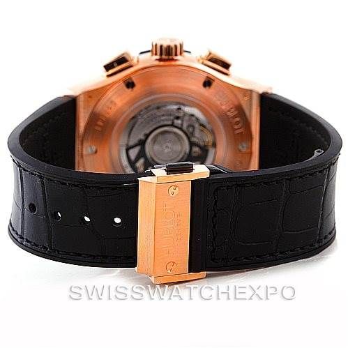 6703P Hublot Classic Fusion Chronograph 18K Rose Gold Watch 521.OX.2610.LR SwissWatchExpo
