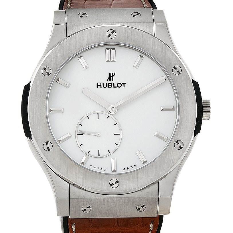Hublot Classic Fusion Classico Ultra Thin 45mm Watch 515.nX.2210.LR SwissWatchExpo