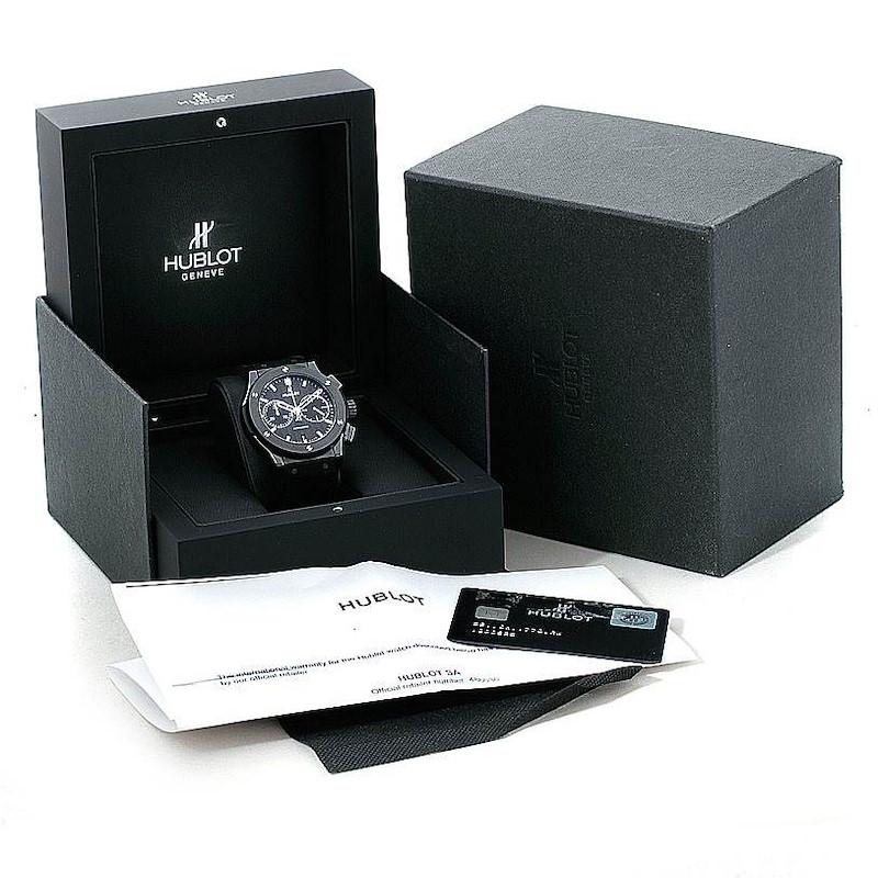 Hublot Classic Fusion Chronograph Black Magic 45mm 521.CM.1770.RX SwissWatchExpo