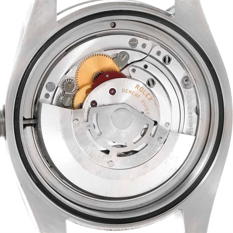 Rolex Milgauss Domed Bezel Green Crystal Stainless Steel Watch 116400V SwissWatchExpo