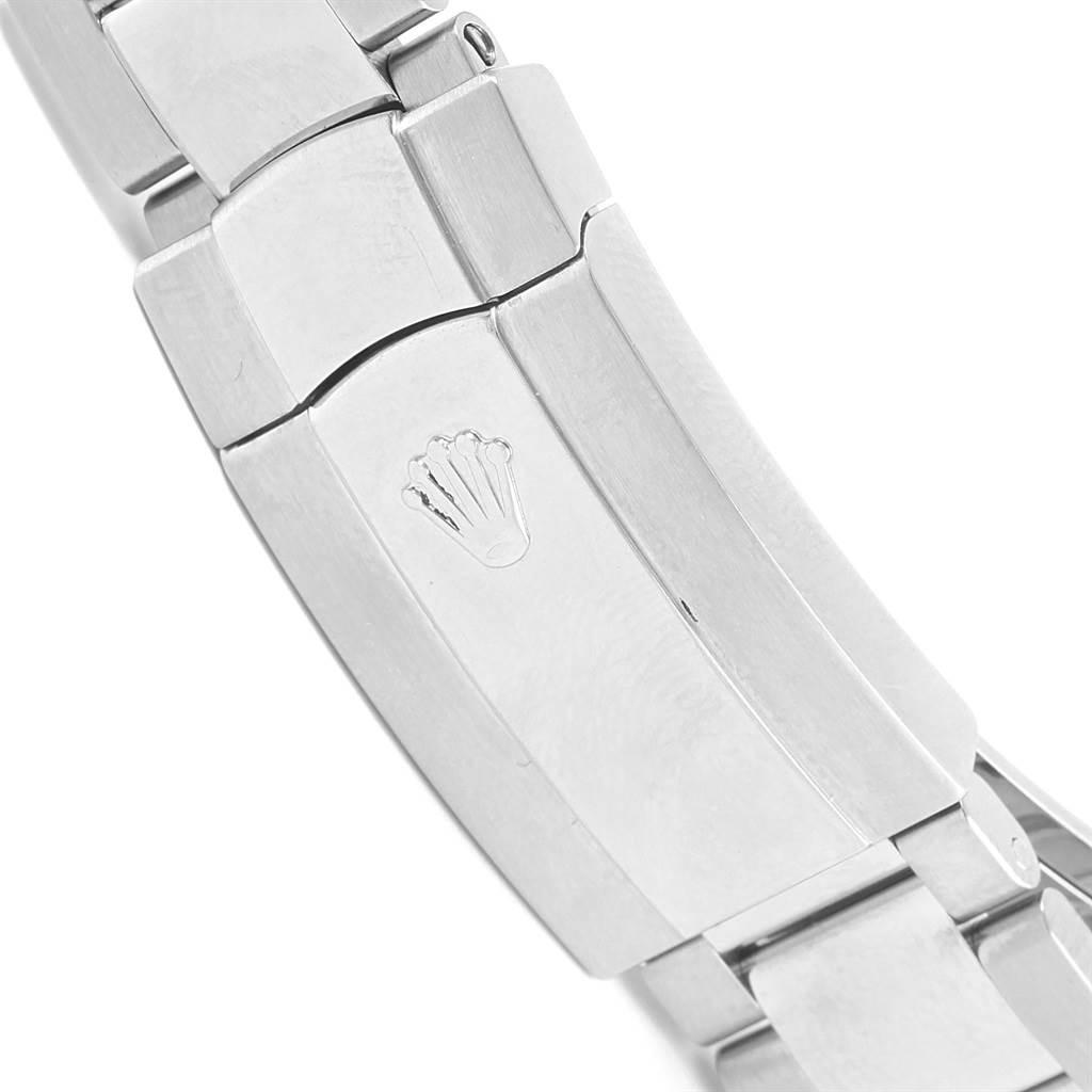 Rolex Milgauss Blue Dial Green Crystal Mens Watch 116400GV SwissWatchExpo