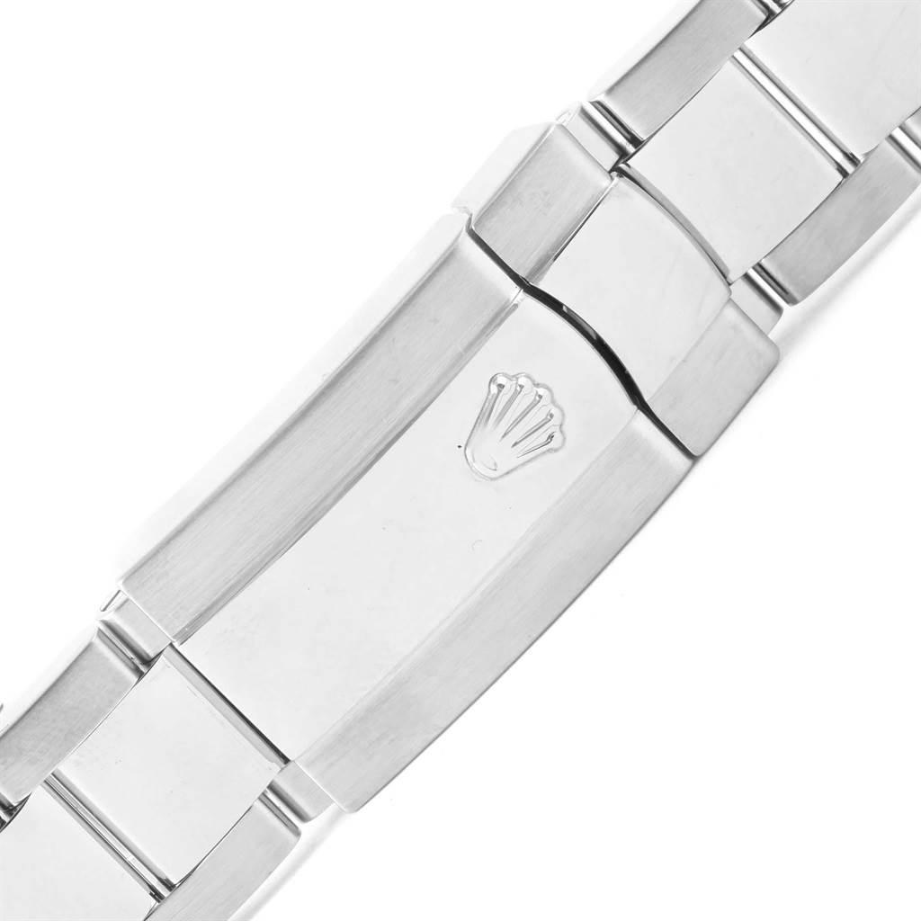 Rolex Milgauss Black Dial Green Crystal Steel Mens Watch 116400V SwissWatchExpo