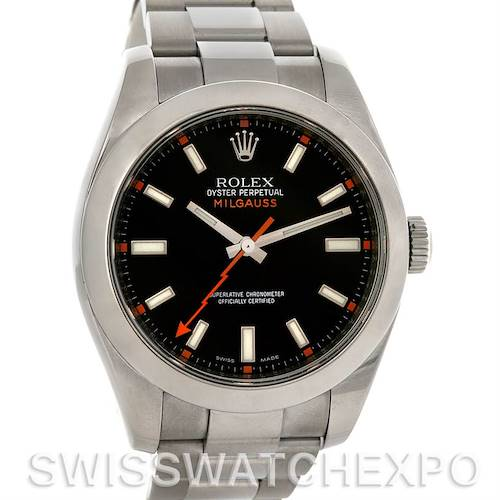 Photo of Rolex Milgauss Steel Men's Sport Watch 116400BKSO