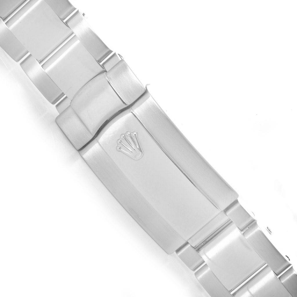 Rolex Milgauss White Dial 40mm Steel Mens Watch 116400 SwissWatchExpo