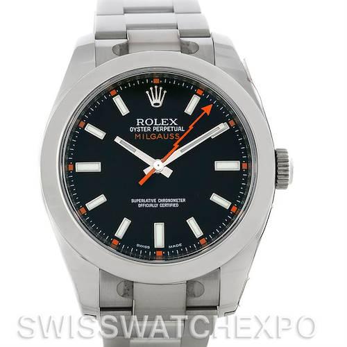 Photo of Rolex Milgauss Steel Men's Watch 116400BKSO