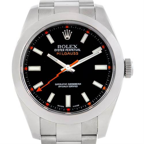 Photo of Rolex Milgauss Steel Mens Watch 116400