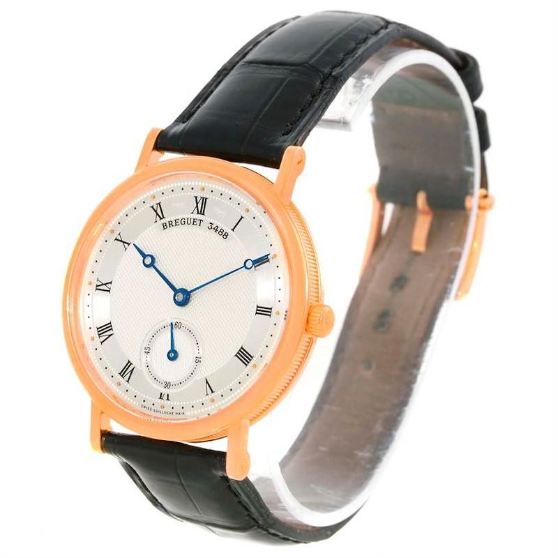 Breguet Classique 18K Rose Gold Mechanical Mens Watch 5907br/12/984 SwissWatchExpo