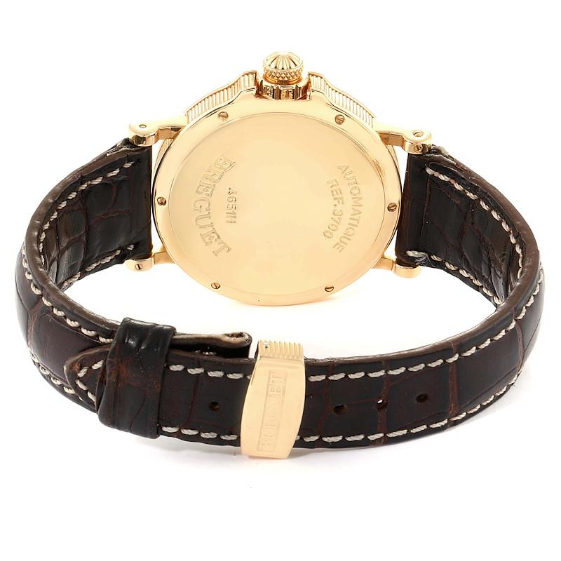 Breguet Marine Hora Mundi 24 World Time Zones Yellow Gold Watch 3700 SwissWatchExpo