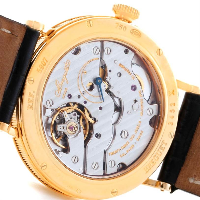 11282 Breguet Classique 18K Yellow Gold Mechanical Mens Watch 5907BA/12/984 SwissWatchExpo