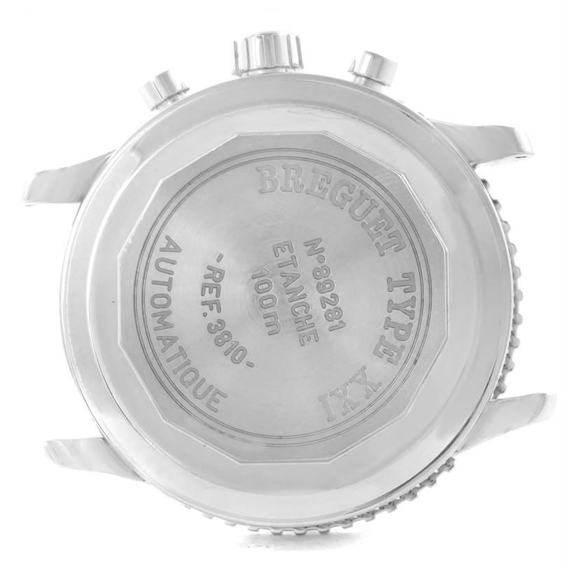 Breguet Transatlantique Type XXI Flyback Ruthenium Dial Watch 3810ST/92/9ZU SwissWatchExpo