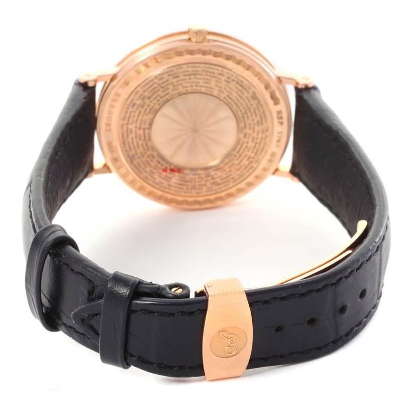 Breguet Classique 250th Anniversary Regulator 18K Rose Gold Watch 1747 SwissWatchExpo