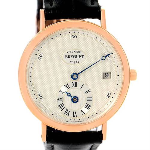 Photo of Breguet Classique 250th Anniversary Regulator 18K Rose Gold Watch 1747