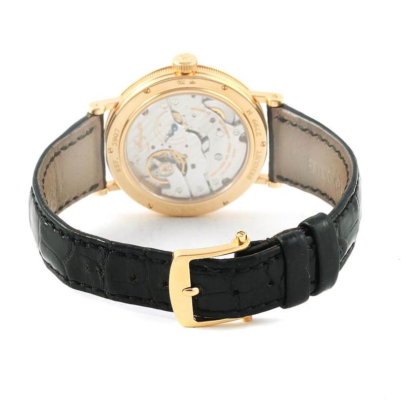 Breguet Classique 18K Yellow Gold Mechanical Mens Watch 5907 SwissWatchExpo