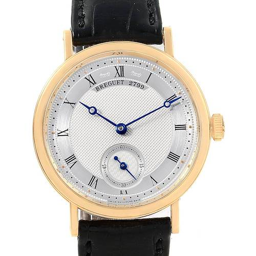 Photo of Breguet Classique 18K Yellow Gold Mechanical Mens Watch 5907