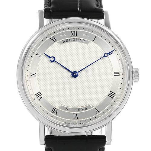 Photo of Breguet Classique 18K White Gold Ultra Thin Watch 5157