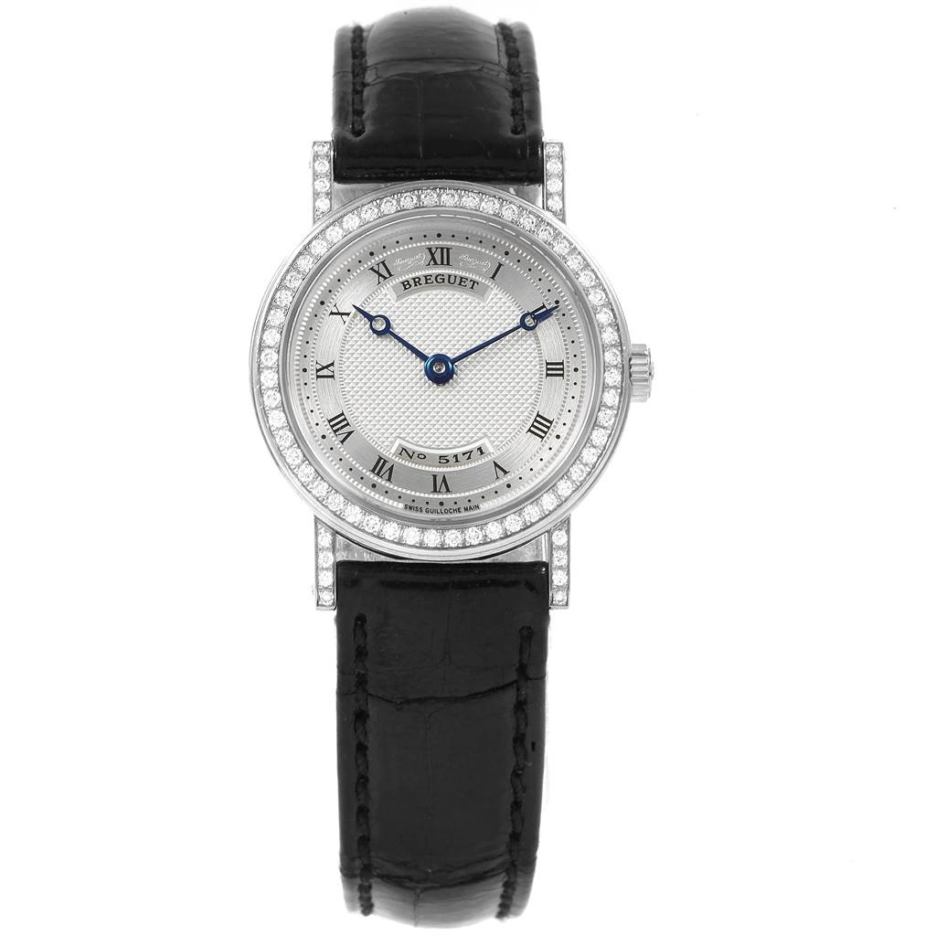Breguet Classique 18K White Gold Diamond Ladies Watch 8561 SwissWatchExpo