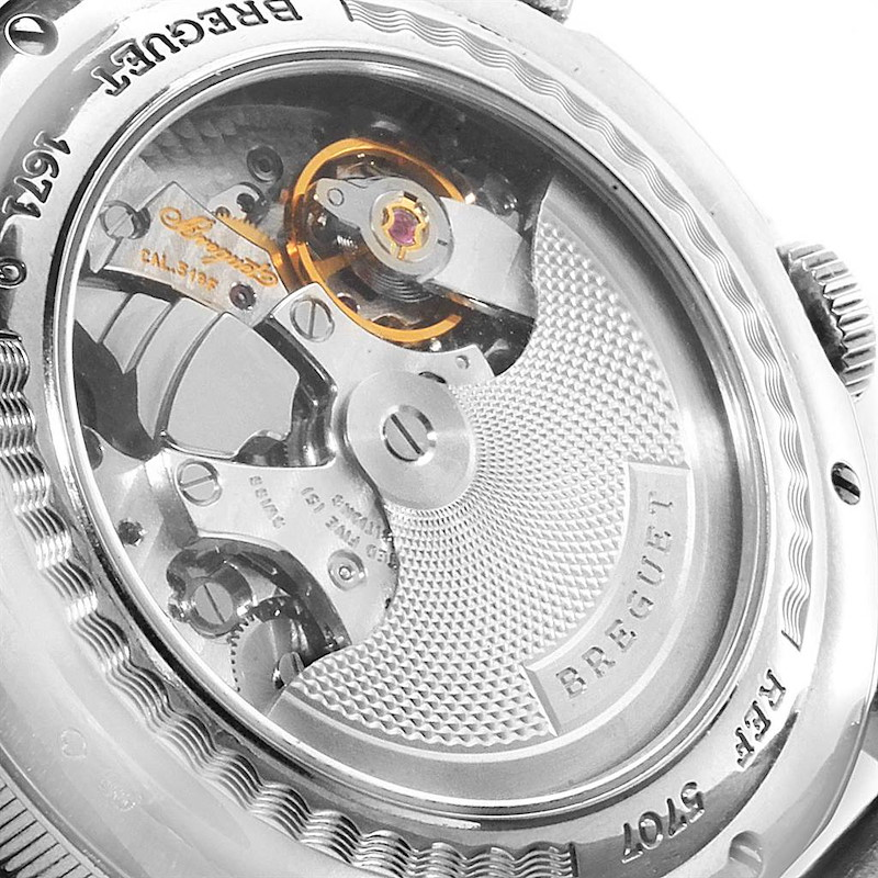 Breguet Classique Alarm Le Reveil du Tsar 18K White Gold Watch 5707 SwissWatchExpo