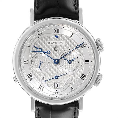 Photo of Breguet Classique Alarm Le Reveil du Tsar 18K White Gold Watch 5707