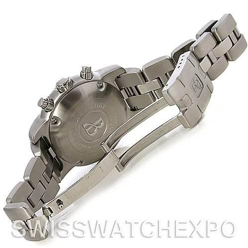 Bertolucci Uomo Chronograph Stainless Steel Automatic Men's Watch SwissWatchExpo