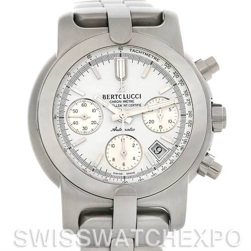 Photo of Bertolucci Uomo Chronograph Stainless Steel Automatic Men's Watch