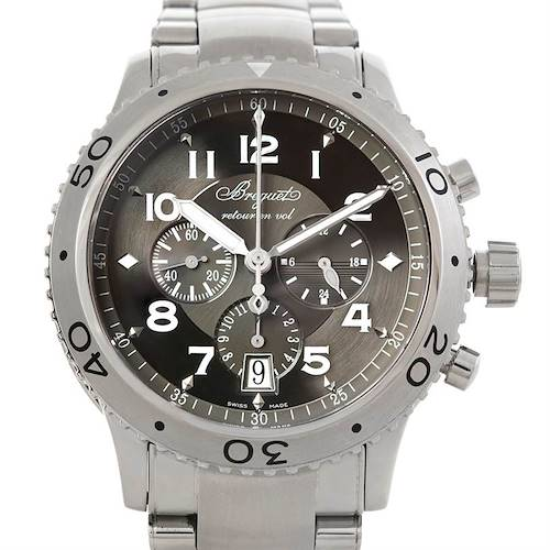 Photo of Breguet Transatlantique Type XXI Flyback Mens Watch 3810