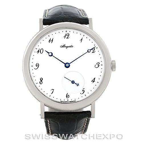 Breguet Classique 18kt White Gold Automatic Mens Watch 5140bb/29/9w6 SwissWatchExpo
