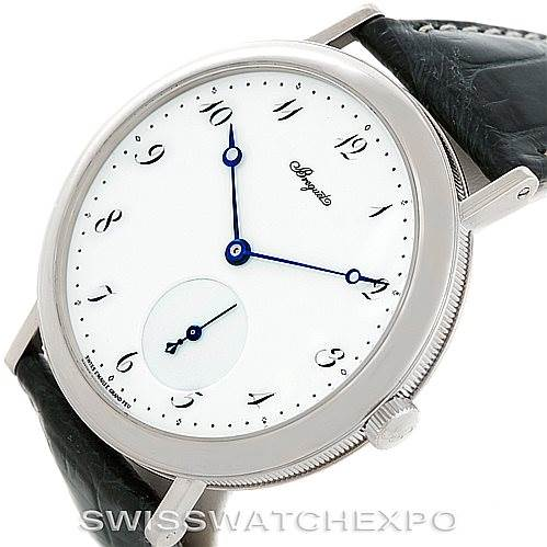 6372P Breguet Classique 18kt White Gold Automatic Mens Watch 5140bb/29/9w6 SwissWatchExpo