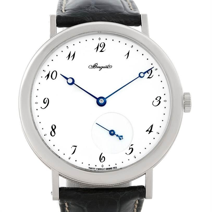 Breguet Classique 18kt White Gold Automatic Mens Watch 5140bb/29/9w6 SwissWatchExpo