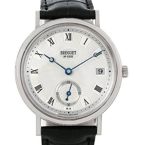 6373p Breguet Classique 18K White Gold Automatic Mens Watch 5920bb/15/984 SwissWatchExpo