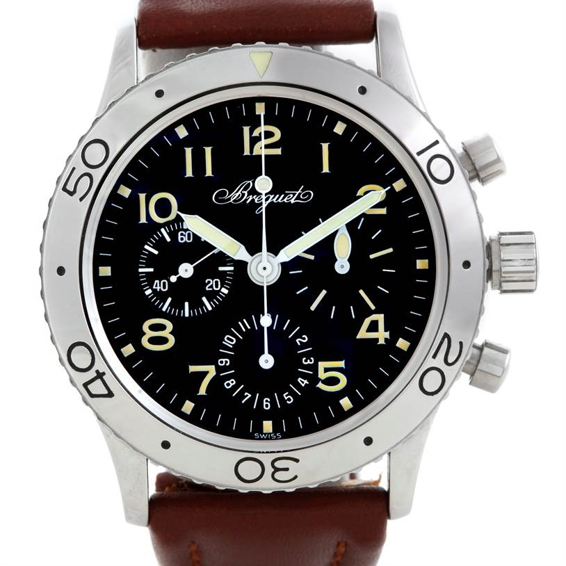 Breguet Type XX Aeronavale Automatic Mens Watch 3800ST/92/9W6 SwissWatchExpo
