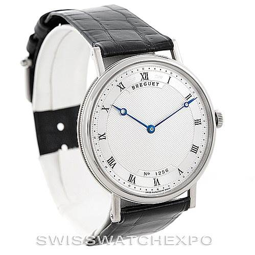 6696P Breguet Classique 18K White Gold Automatic Mens Watch 5157BB/11/9V6 SwissWatchExpo