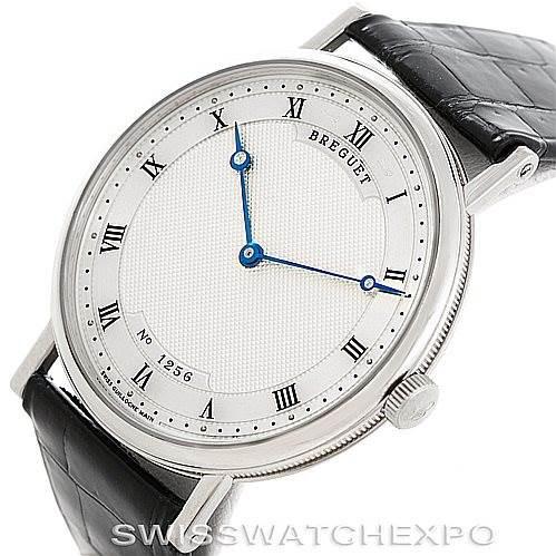 Breguet Classique 18K White Gold Automatic Mens Watch 5157BB/11/9V6 SwissWatchExpo