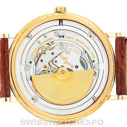 6698p Breguet Classique 18kt Yellow Gold Automatic Mens Watch 5140ba/29/9w6 SwissWatchExpo