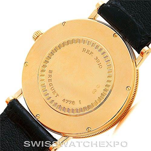 6960 Breguet Classique 18K Yellow Gold Mens Watch 3910BA/15/286 SwissWatchExpo